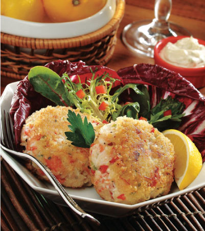 Crab Cakes with Lemon-Caper Rémoulade