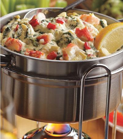 Hot Crab, Spinach and Artichoke Dip