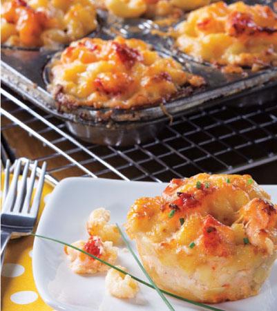 Lobster Mac & Cheese Cups