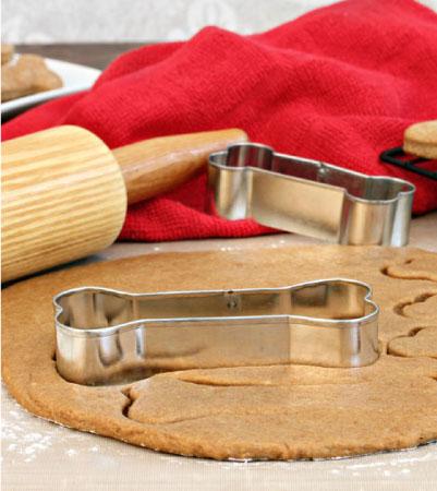 Pumpkin-Peanut Butter Dog Cookies