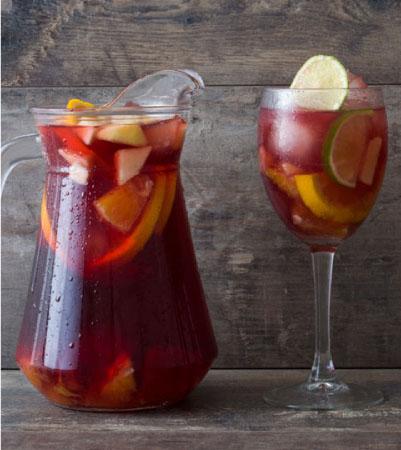 Red Lemon-Lime Sangria